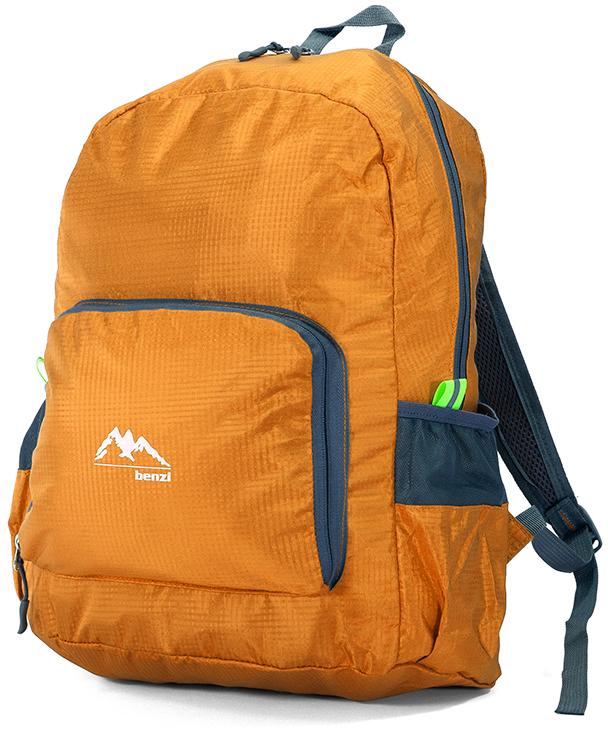 Τσάντα Πλάτης Αναδιπλούμενη Benzi BZ5091 Πορτοκαλι σακίδια   τσάντες   τσάντες πλάτης