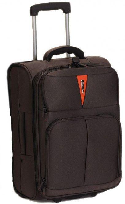 Βαλίτσα καμπίνας τρόλευ Diplomat ZC 6100 51x35x21εκ Καφέ