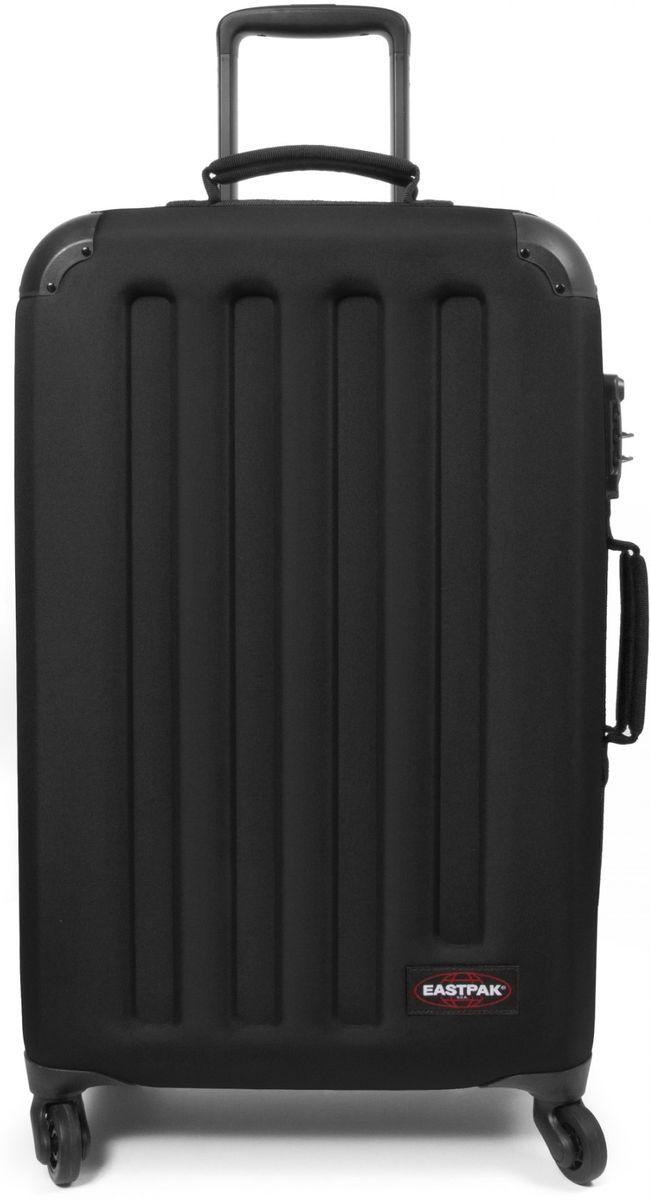 Βαλίτσα 67cm με 4 Ρόδες Tranzshell Μ Eastpak EK74F008 Μαύρο ειδη ταξιδιου   βαλίτσες   βαλίτσες   βαλίτσες μεσαίου μεγέθους