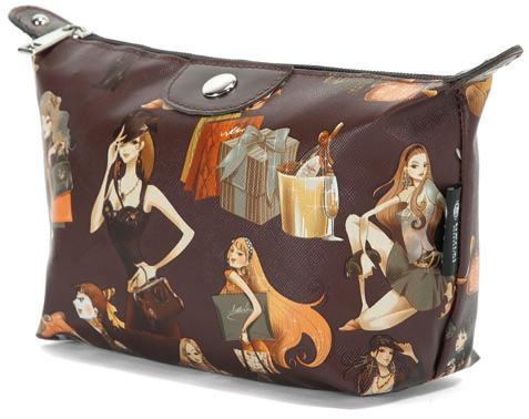 Νεσεσερ Girls Fashion Benzi BZ4354 Καφέ ειδη ταξιδιου   βαλίτσες   αξεσουαρ ταξιδιου   νεσεσέρ