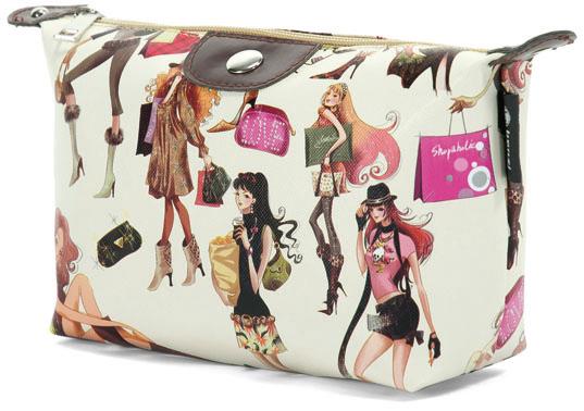 Νεσεσερ Girls Fashion Benzi BZ4354 Μπεζ ειδη ταξιδιου   βαλίτσες   αξεσουαρ ταξιδιου   νεσεσέρ