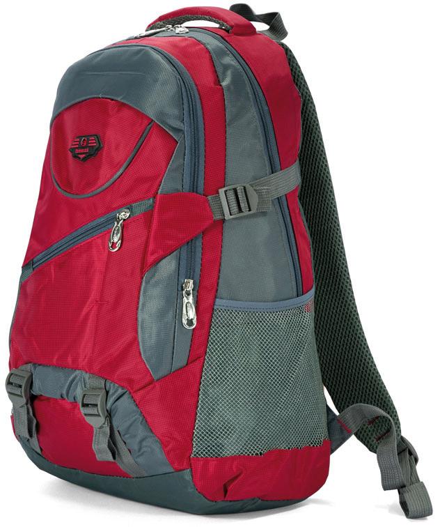Σακίδιο Πλάτης 51εκ. Benzi BZ4554 Κόκκινο σακίδια   τσάντες   τσάντες πλάτης