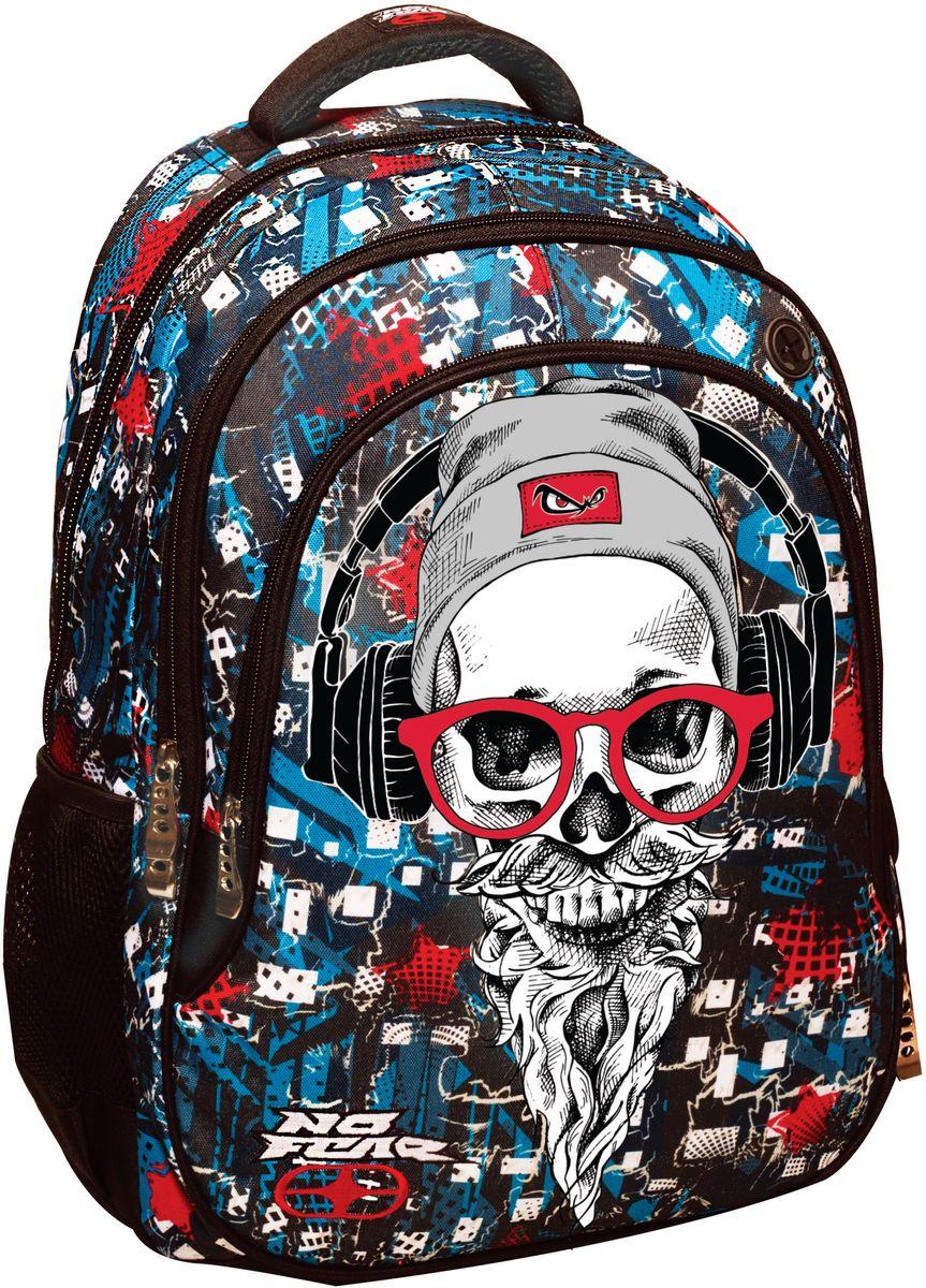 ce504799a0 Bagz Τσάντα Δημοτικού No Fear Hipster BMU 347-48031