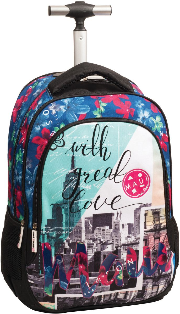 Τσάντα Δημοτικού Trolley MAUI New York BMU 339-62074 σχολικες τσαντες   τσάντες δημοτικού   για κοριτσια