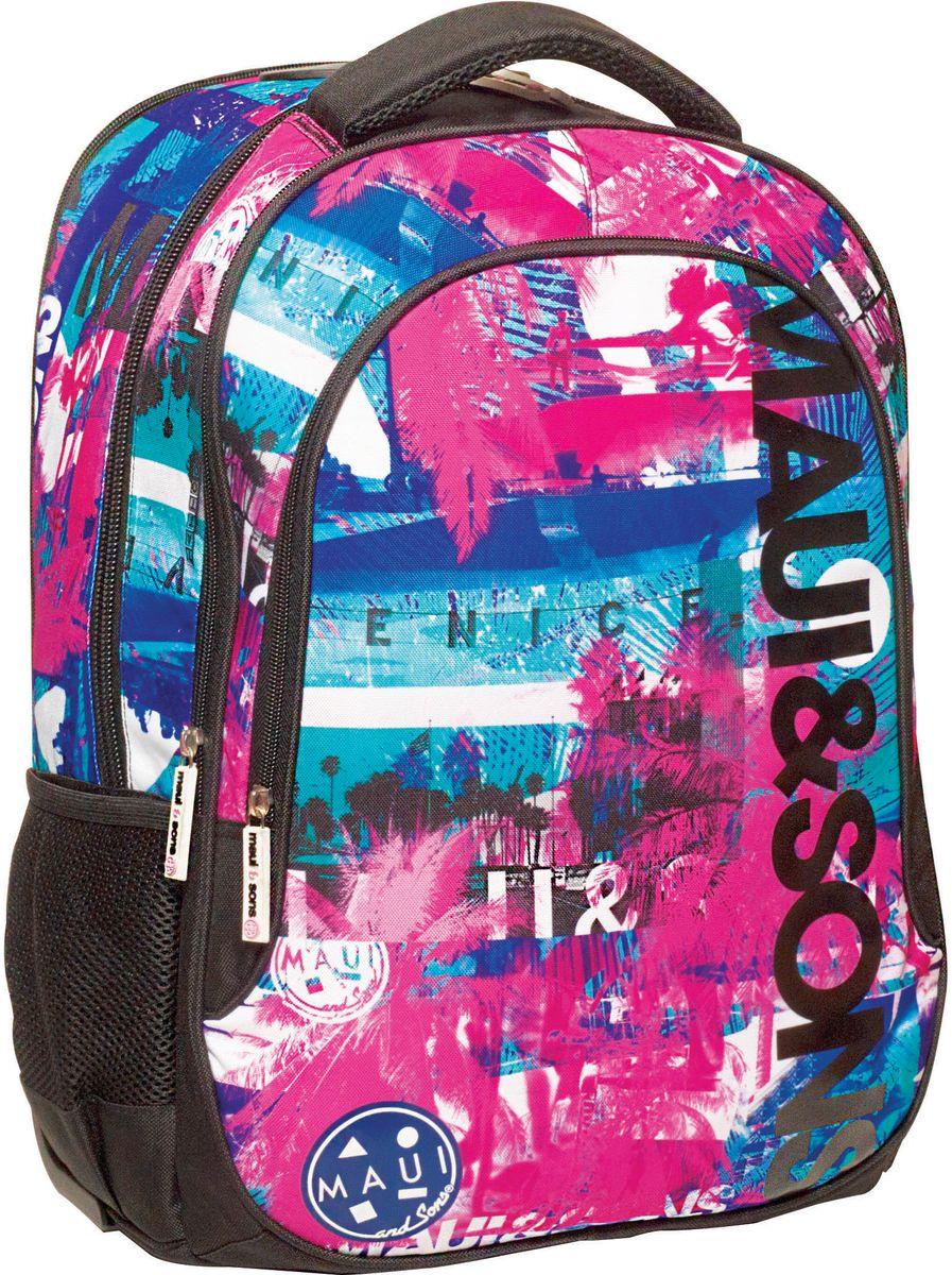Τσάντα Δημοτικού MAUI Venice Beach BMU 339-68031 σχολικες τσαντες   τσάντες δημοτικού   για κοριτσια