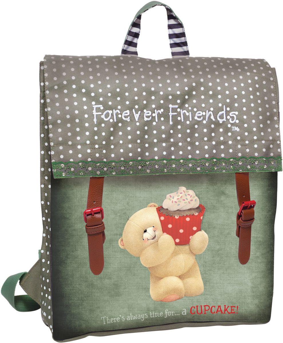 Τσάντα Πλάτης με Flap Forever Friends Cupcake BMU 333-41212 σακίδια   τσάντες   τσάντες πλάτης