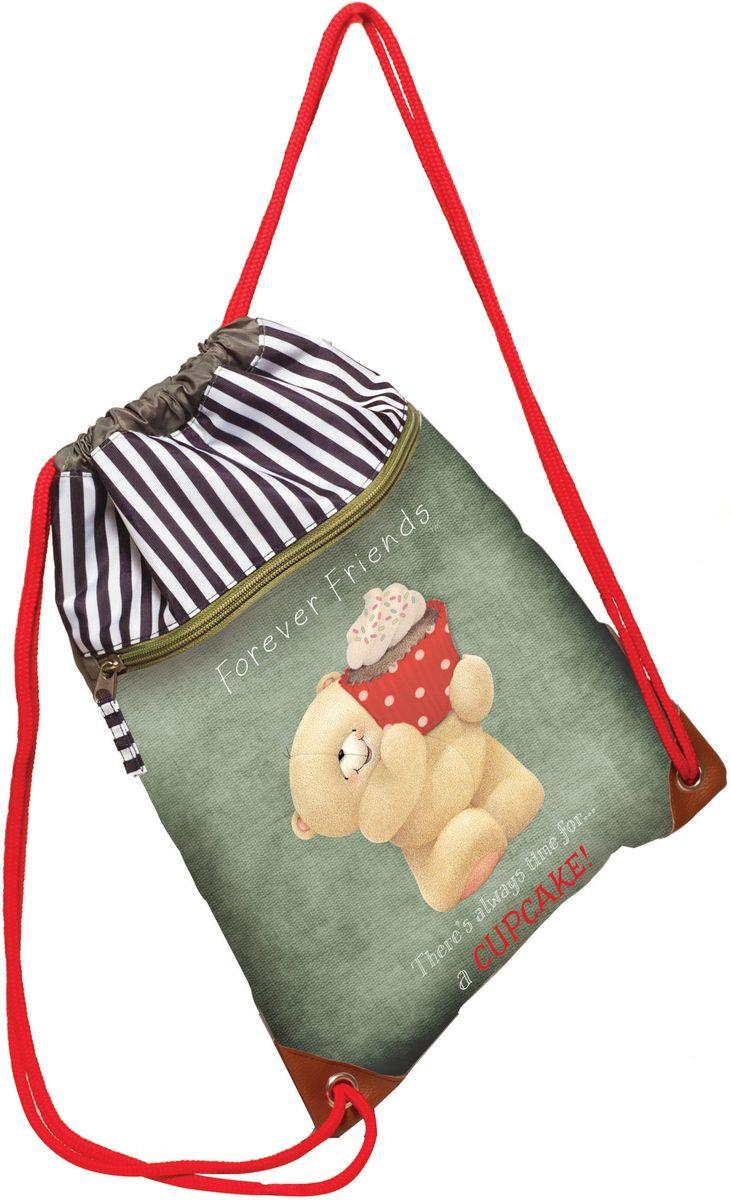 Τσάντα Πλάτης Πουγκί Forever Friends Cupcake BMU 333-41261 σακίδια   τσάντες   τσάντες πλάτης