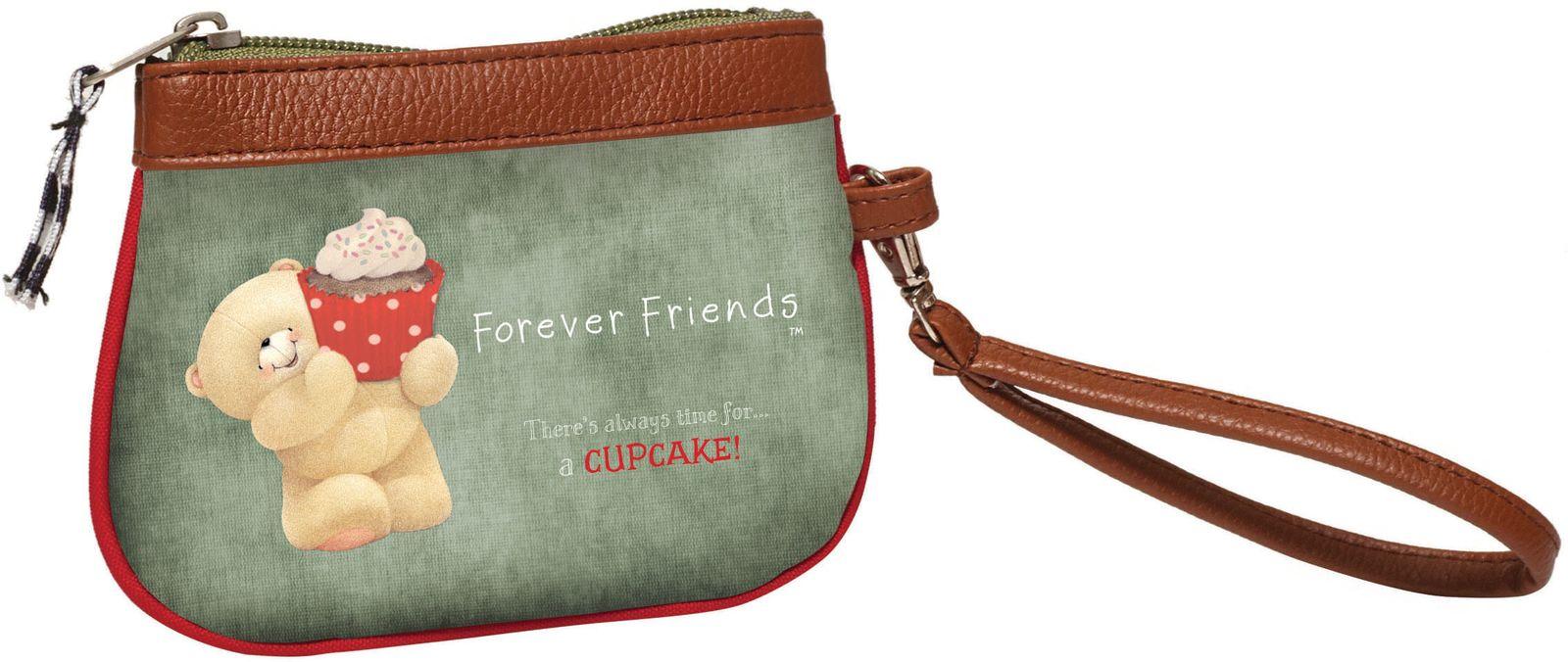 3b7e1eef47 Bagz Πορτοφόλι Μικρό Forever Friends Cupcakes BMU 333-41288