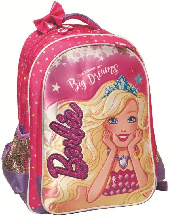 4acef140fa Τσάντα Δημοτικού Barbie Dreamtopia Gim 349-61031