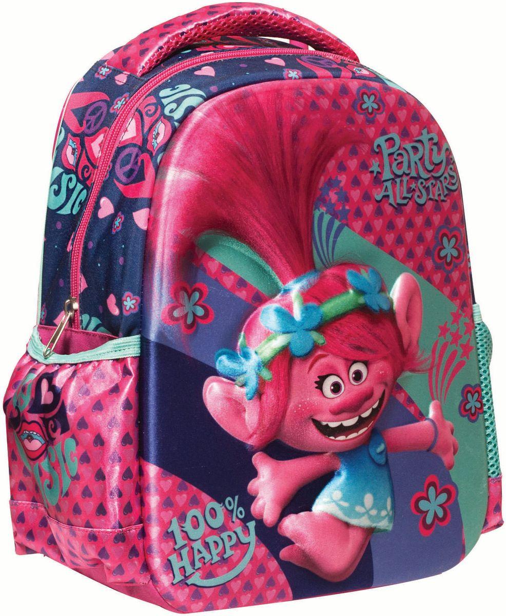 4e35d640f41 Τσάντα Νηπιαγωγείου Trolls Happy Music 3D Gim 345-22054