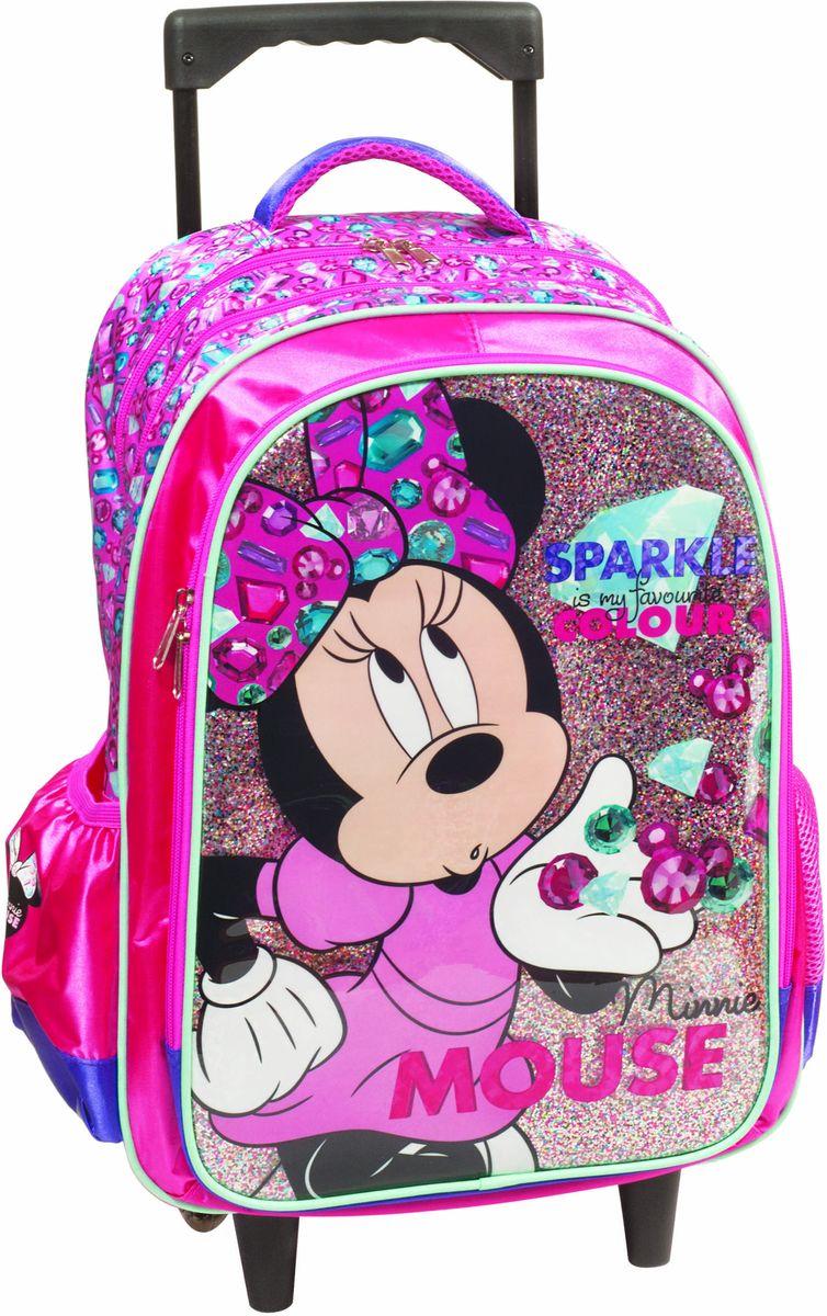 5dafd54a43 Bagz Τσάντα Δημοτικού Trolley Minnie Gem Gim 340-55074