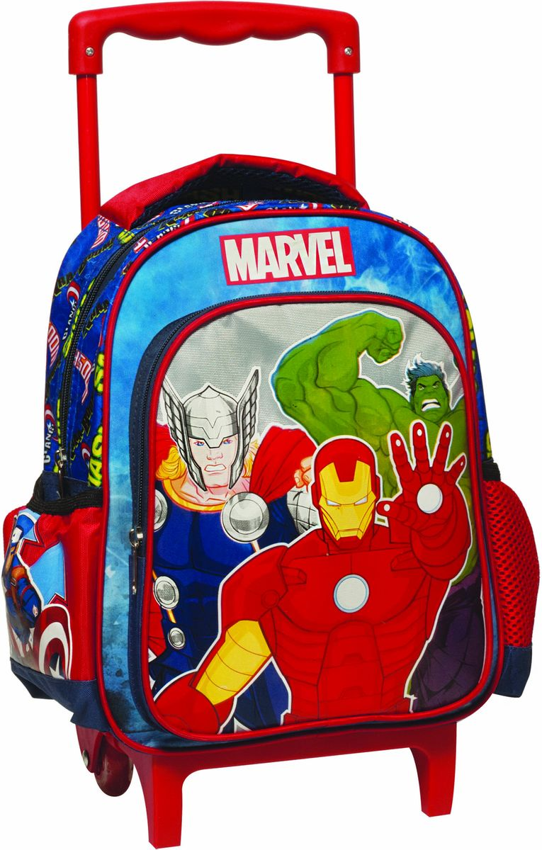 4605ff41cd Τσάντα Trolley Νηπιαγωγείου Avengers Gim 337-26072
