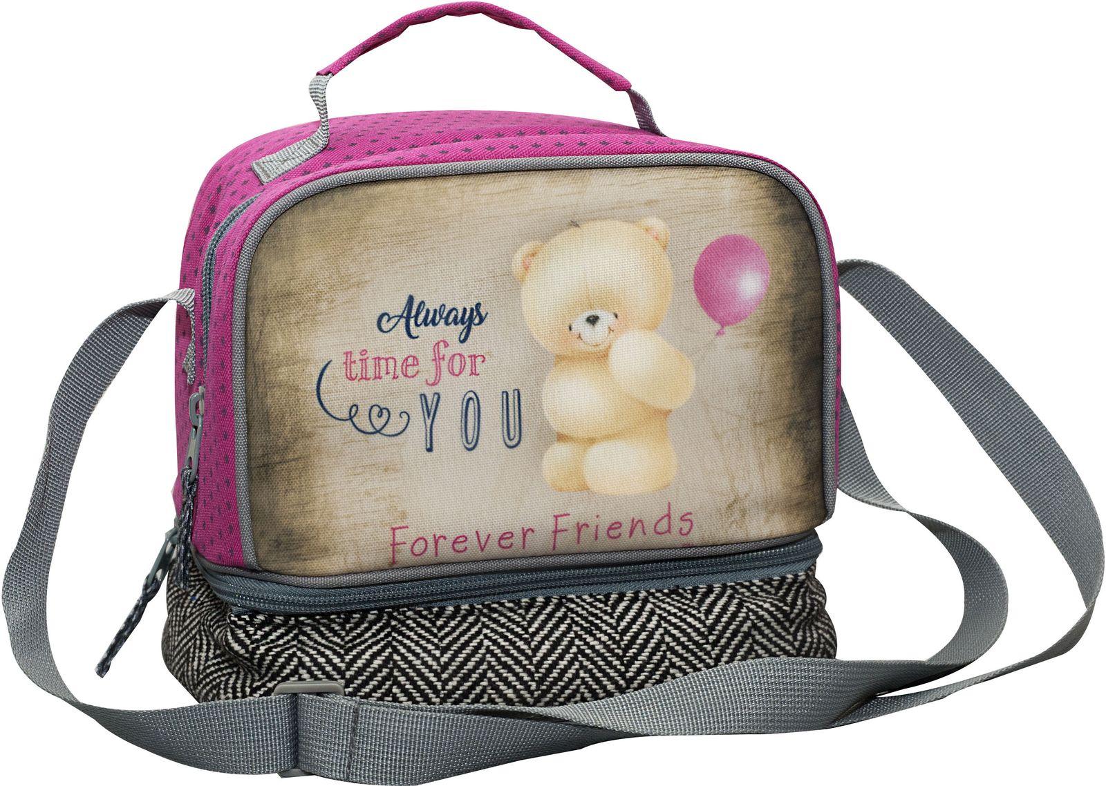 2c63b6f16b Bagz Τσαντάκι Φαγητού Forever Friends Tweed BMU 333-40220