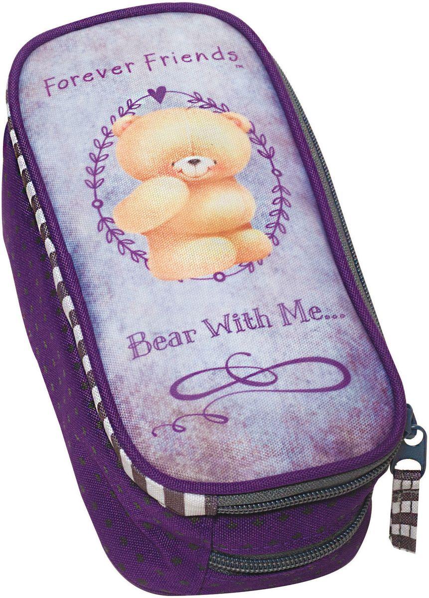 Κασετινάκι Οβαλ Forever Friends Rustic BMU 333-42144 παιδί   τσάντες δημοτικού   κασετίνες