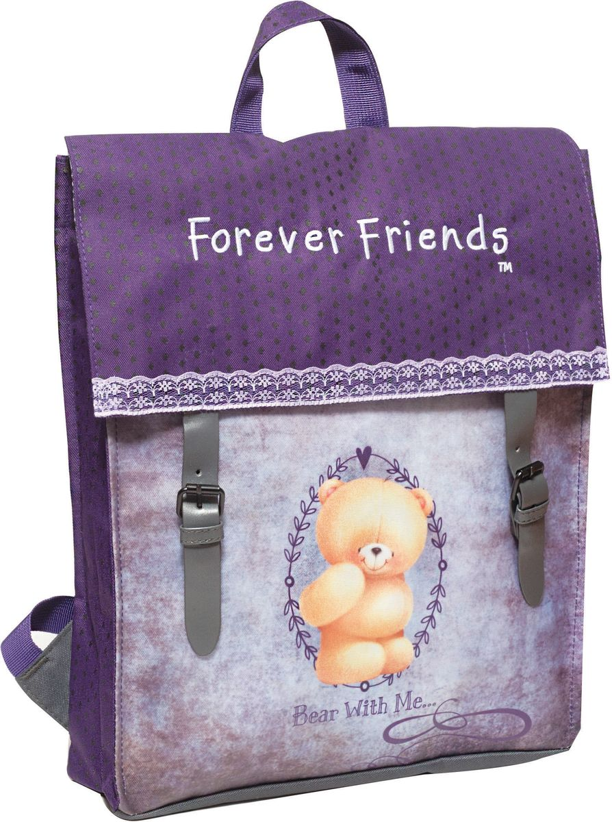 Σακίδιο Πλάτης με Flap Forever Friends Rustic 333-42212