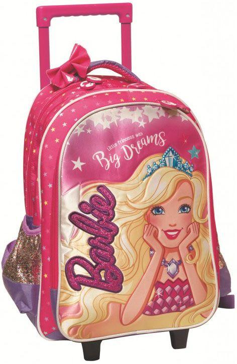 d21fd1f005 Τσάντα Trolley Νηπιαγωγείου Barbie Dreamtopia Gim 349-61072