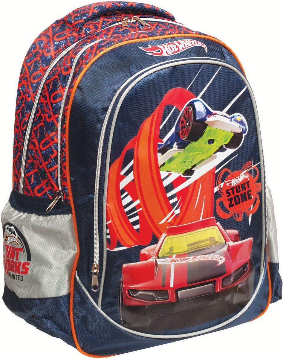 74ce3f8df4 Τσάντα Δημοτικού Hot Wheels + Αυτοκινητάκι Gim 349-23031