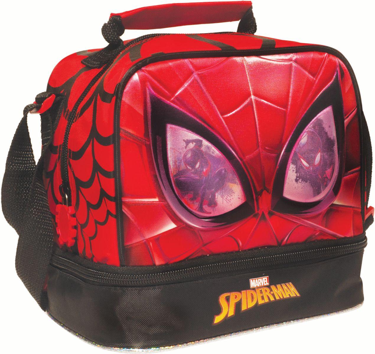 Τσαντάκι Φαγητού Spiderman Face Gim 337-73220 σχολικες τσαντες   τσάντες νηπιαγωγείου   για αγοράκια