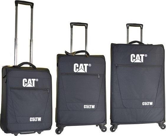 Σετ Βαλιτσες 50-60-70 C5LTW Caterpillar 83009 Μαυρο ειδη ταξιδιου   βαλίτσες   βαλίτσες   σετ βαλίτσες ταξιδίου