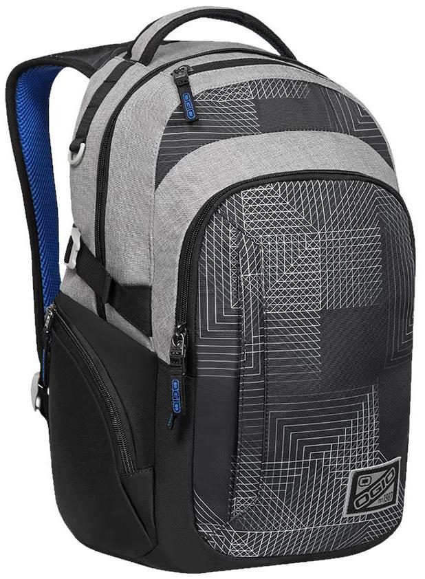 Σακίδιο Πλάτης με Θήκη Laptop 15inch Quad Pack Ogio Geocache 111140887 Μαύρο/Γκρ σακίδια   τσάντες   τσάντες πλάτης