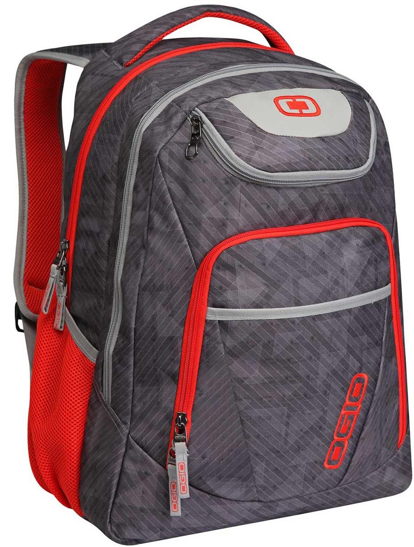 Σακίδιο Πλάτης για Laptop 17inch Tribune Ogio 111078.329 Γκρι/Κοκκινο σακίδια   τσάντες   τσάντες πλάτης