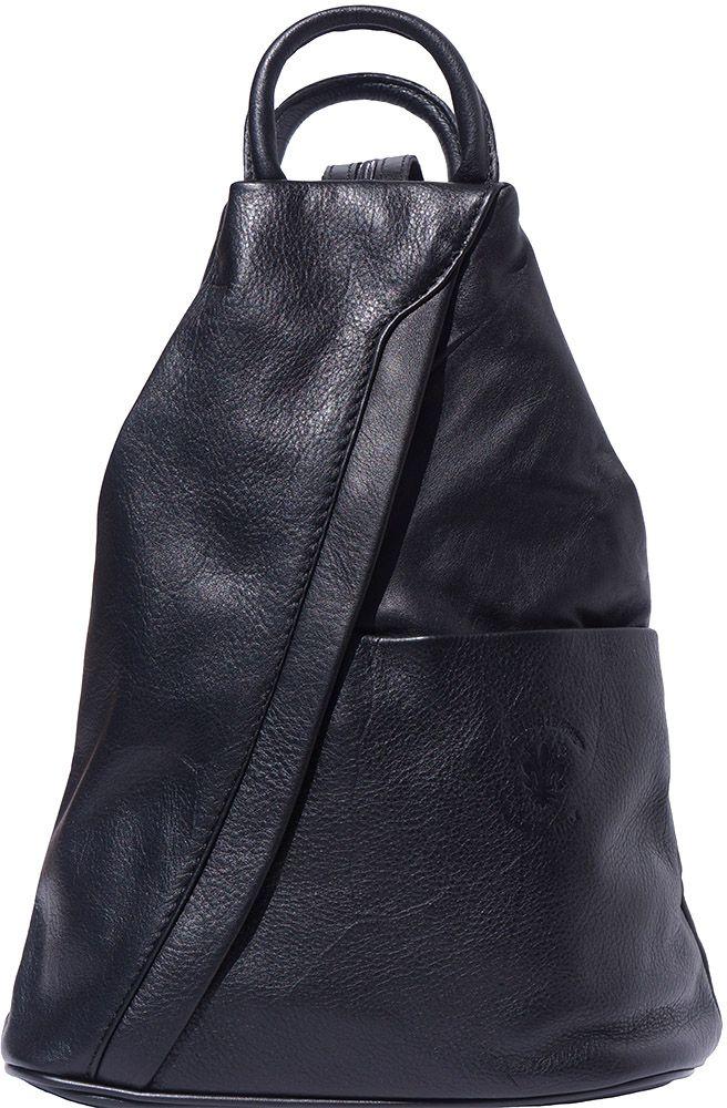 Γυναικειο Δερματινο Backpack Vanna Firenze Leather 2061 Μαύρο γυναίκα   τσάντες πλάτης