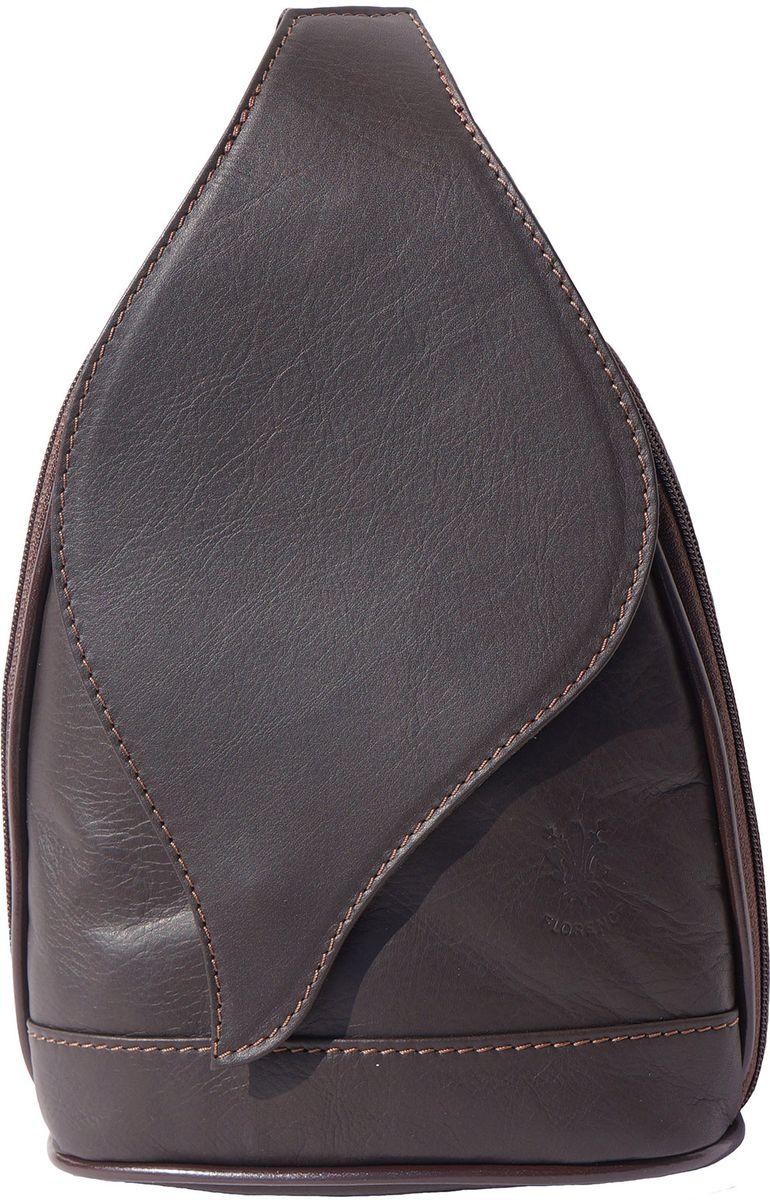 4b06581d18 Δερμάτινη Τσάντα Πλάτης Foglia GM Firenze Leather 2060 Σκουρο Καφε ...