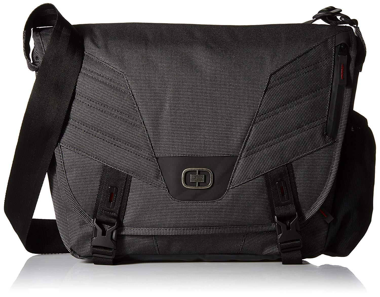 Τσάντα Laptop 13inch Renegade Messenger Ogio 117049.317 Μαύρο ανδρας   χαρτοφύλακες