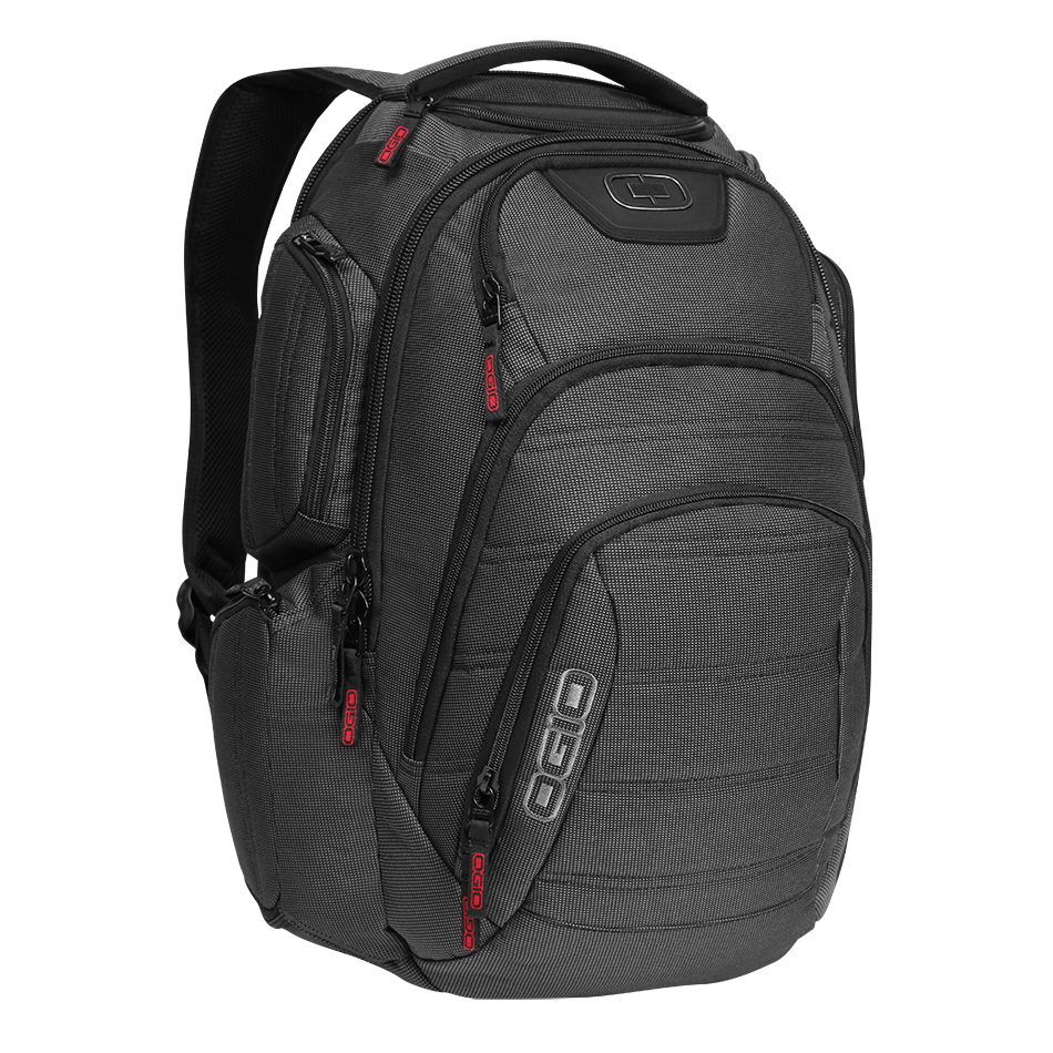 Σακίδιο Πλάτης για Laptop 17inch Renegade Rss Ogio Black Pindot 111071.317 σακίδια   τσάντες   τσάντες πλάτης