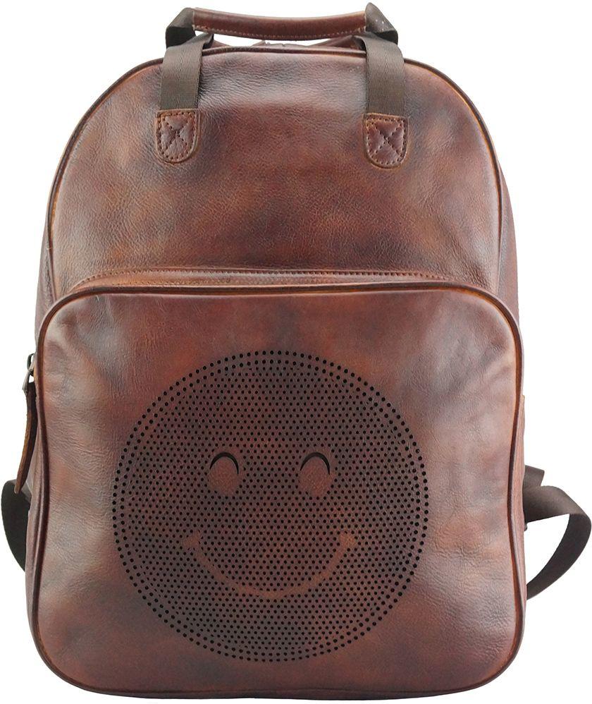 Δερμάτινη Τσάντα Πλάτης Alessandro Vintage Firenze Leather 68011 Καφε ... ea2fc7d122c