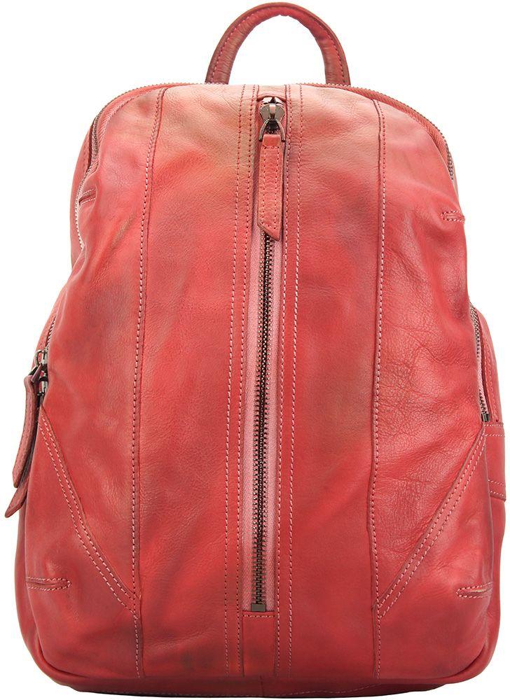 8ed915ade0 Δερμάτινη Τσάντα Πλάτης Armando Firenze Leather 68029 Σκουρο Κόκκινο