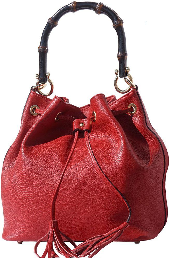 95974f0cf9 Δερματινη Τσαντα Ωμου Tamara Firenze Leather 9135 Κόκκινο
