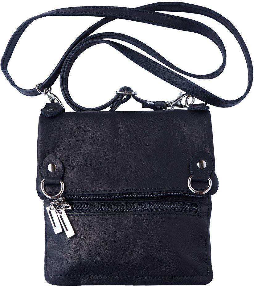 Τσαντα Ωμου Δερμάτινη Firenze Leather 408 Μαύρο γυναίκα   τσάντες ώμου   χειρός