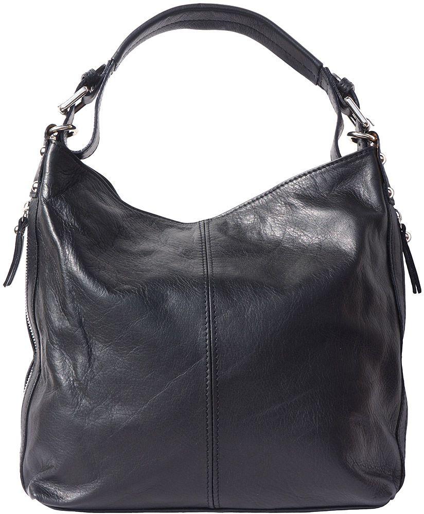 Δερματινη Τσαντα Ωμου Betta Firenze Leather 3013 Μαύρο γυναίκα   τσάντες ώμου   χειρός