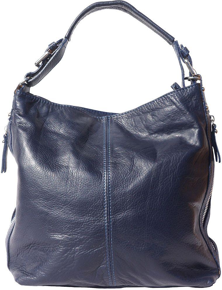 Δερματινη Τσαντα Ωμου Betta Firenze Leather 3013 Σκουρο Μπλε γυναίκα   τσάντες ώμου   χειρός