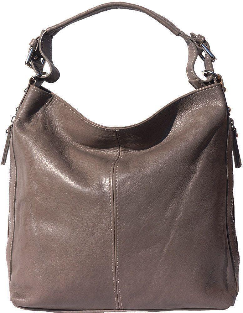 Δερματινη Τσαντα Ωμου Betta Firenze Leather 3013 Γκρι γυναίκα   τσάντες ώμου   χειρός