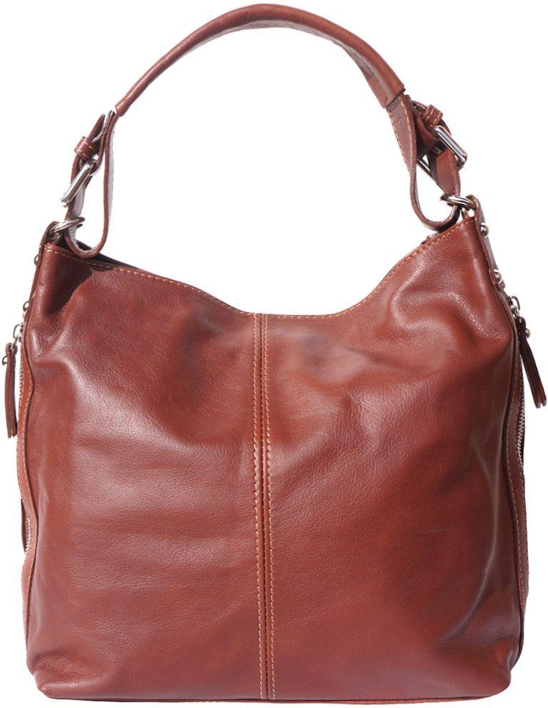 Δερματινη Τσαντα Ωμου Betta Firenze Leather 3013 Καφε γυναίκα   τσάντες ώμου   χειρός