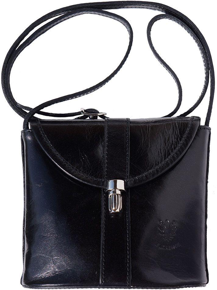 Τσαντακι Ωμου Δερματινο Firenze Leather 202 Μαύρο γυναίκα   τσάντες ώμου   χειρός