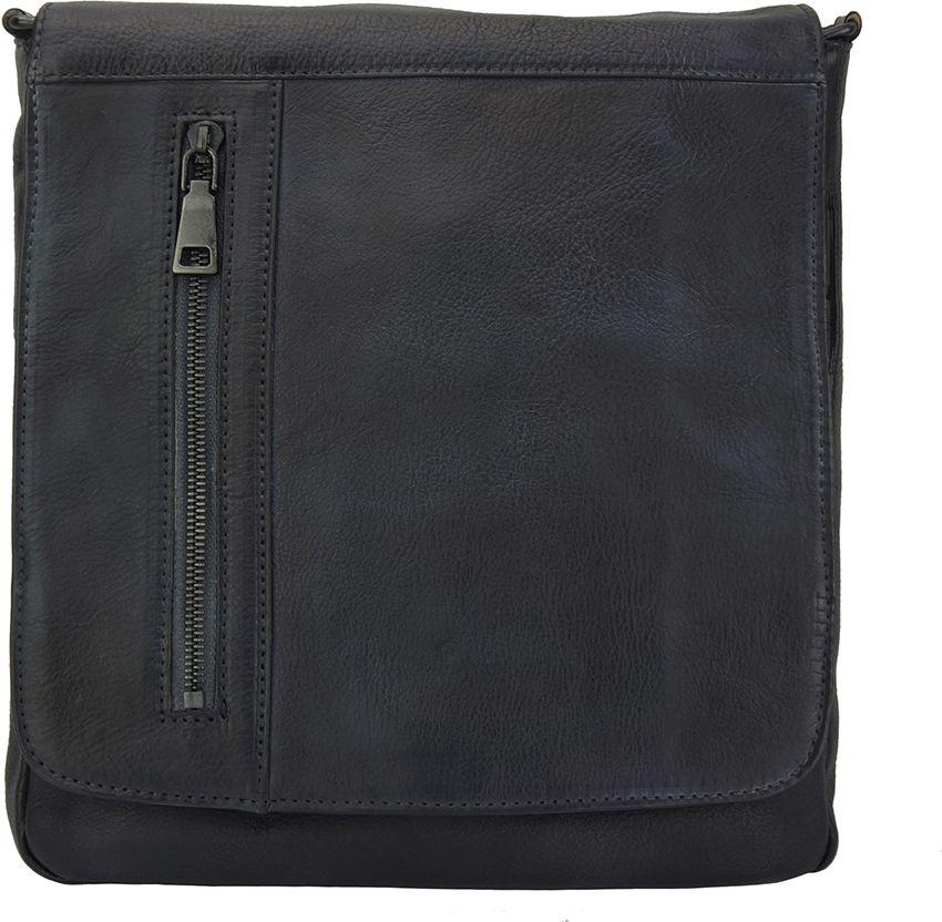 48a5b5a1b0 Δερματινο Τσαντακι Ωμου Igor Firenze Leather 68015 Μαύρο