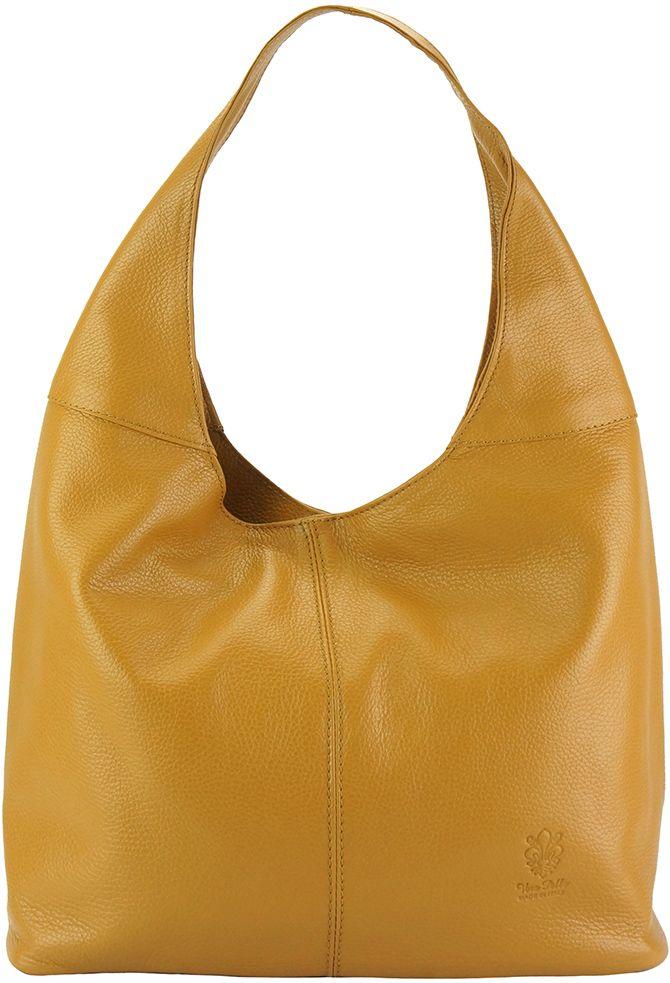 5b9c8556b9 Δερματινη Γυναικεια Τσαντα Ωμου The Caissa Firenze Leather 0834 Tan