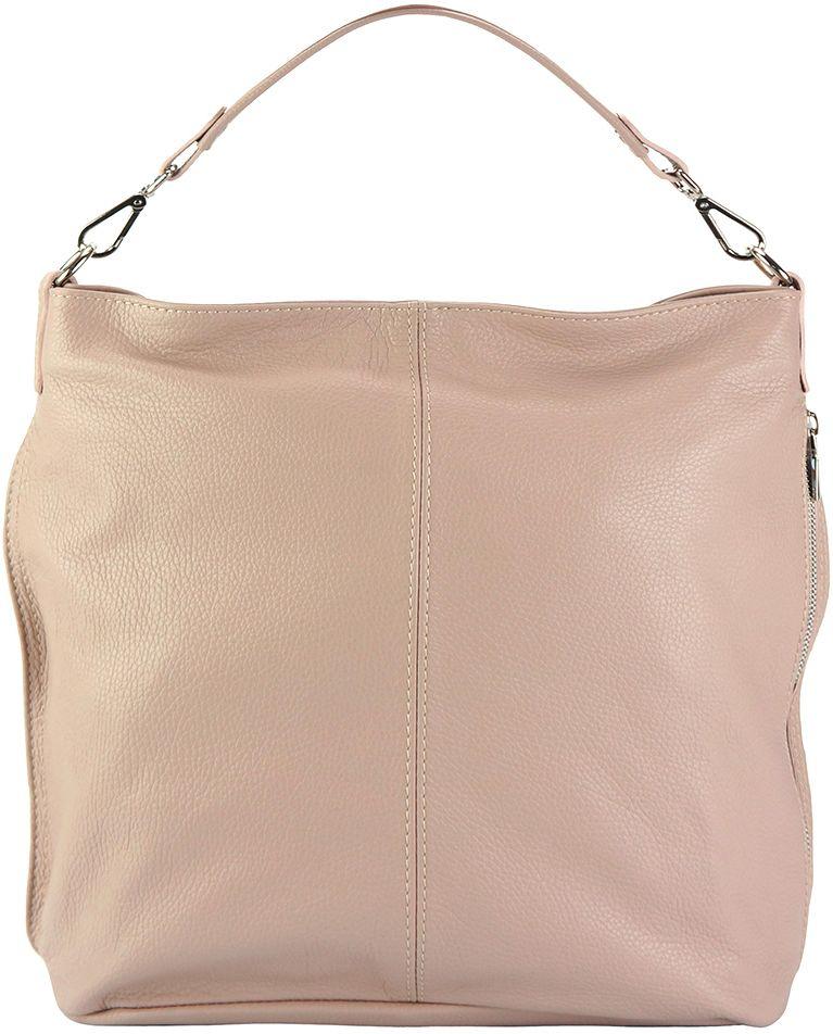 Δερματινη Τσαντα Ωμου Hobo The Donata Firenze Leather 9116 Ροζ 3e9d2860c32
