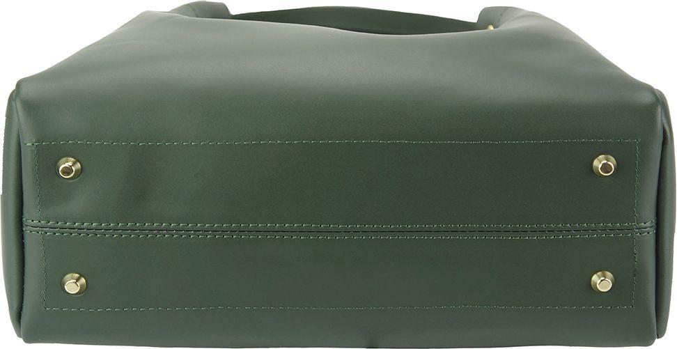 ... Δερμάτινη Τσάντα Ωμου Eleonora Firenze Leather 8051 Σκουρο Πρασινο ... 8a4fbe3dbbf