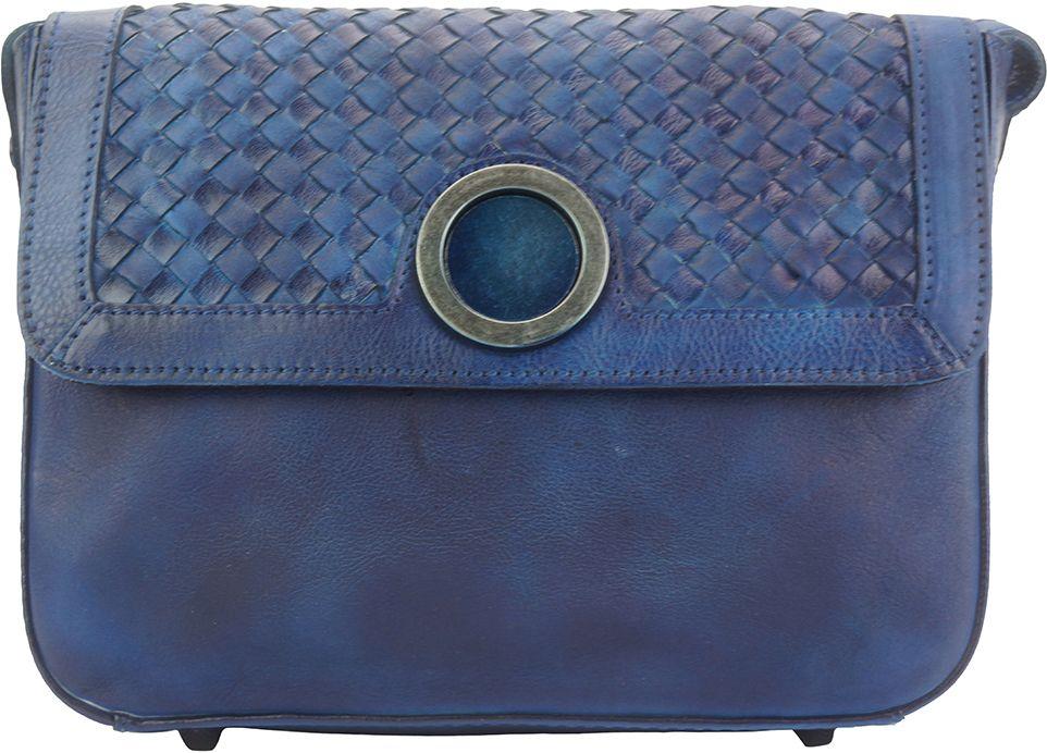 b952ebd4a6 Δερματινο Γυναικειο Τσαντακι Ωμου Firenze Leather 68097 Σκουρο Μπλε ...