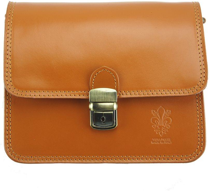44aa716fb2 Δερματινο Τσαντακι Diana Firenze Leather 220 Μπεζ