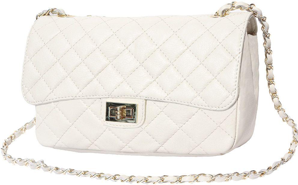 Δερματινο Τσαντακι Ωμου Be Exclusive Firenze Leather 9605 Μπεζ γυναίκα   φάκελοι clutch bags