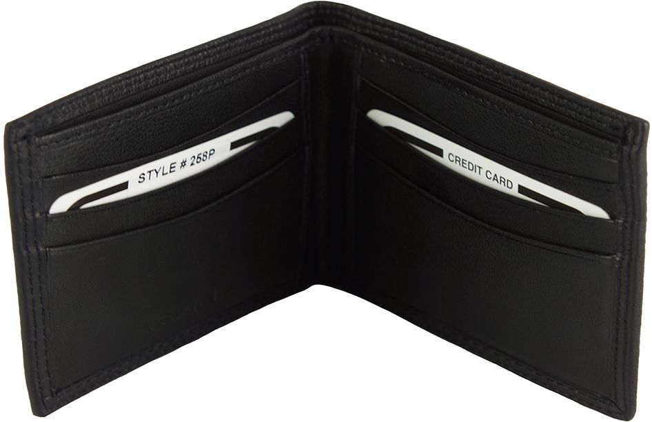 5ba19f7e5b Bagz Ανδρικο Δερματινο Πορτοφολι Firenze Leather PF258 Μαύρο