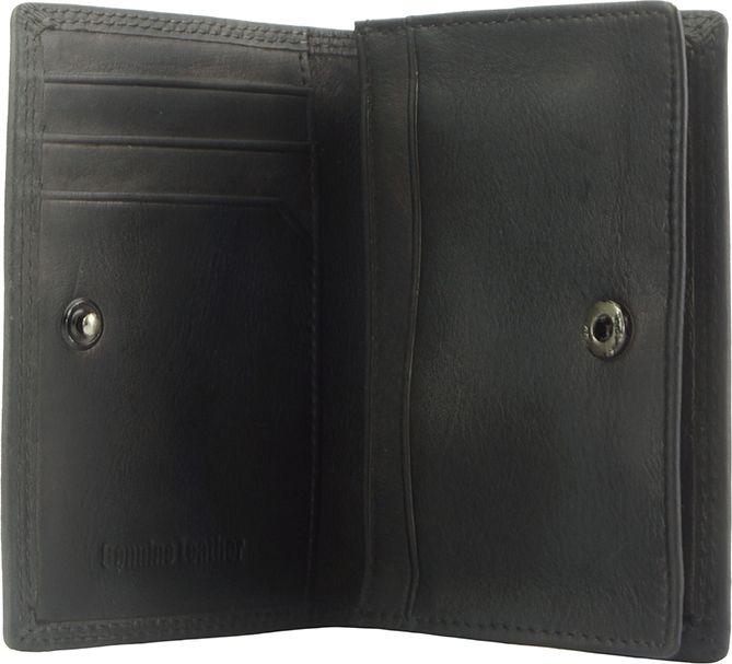 Δερματινη Θηκη για Καρτες Firenze Leather 53448 Μαύρο ανδρας   πορτοφόλια