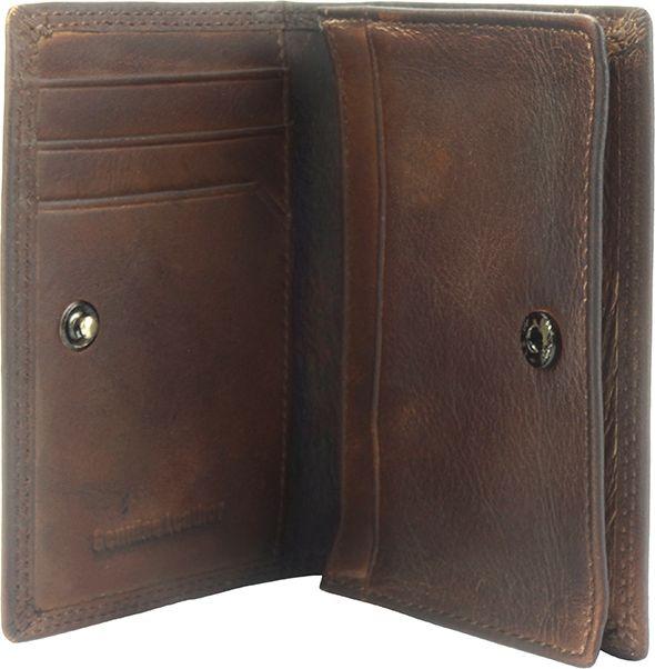 Δερματινη Θηκη για Καρτες Firenze Leather 53448 Σκουρο Καφε ανδρας   πορτοφόλια