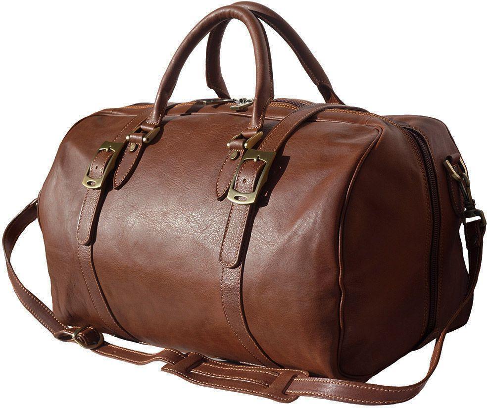 Δερμάτινο Σακ Βουαγιαζ Fortunato Firenze Leather 7503 Καφε