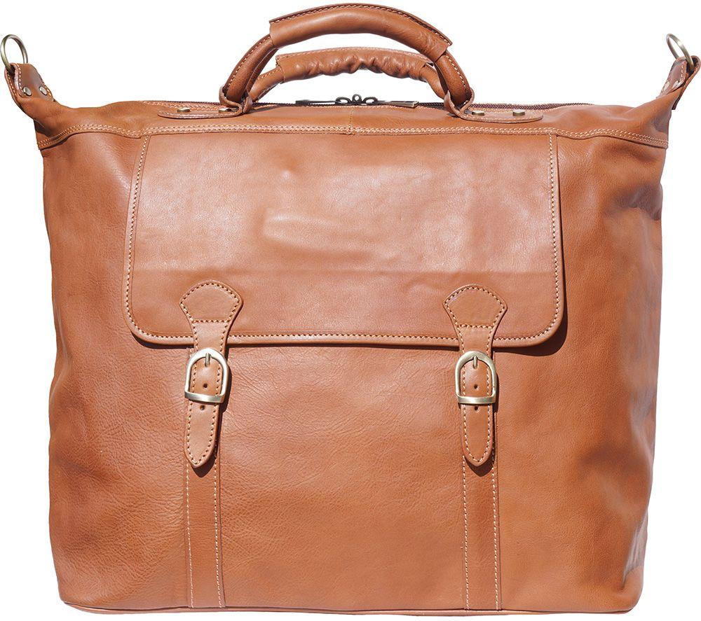 Δερματινος Σακος Ταξιδίου Firenze Leather 7504 Μπεζ
